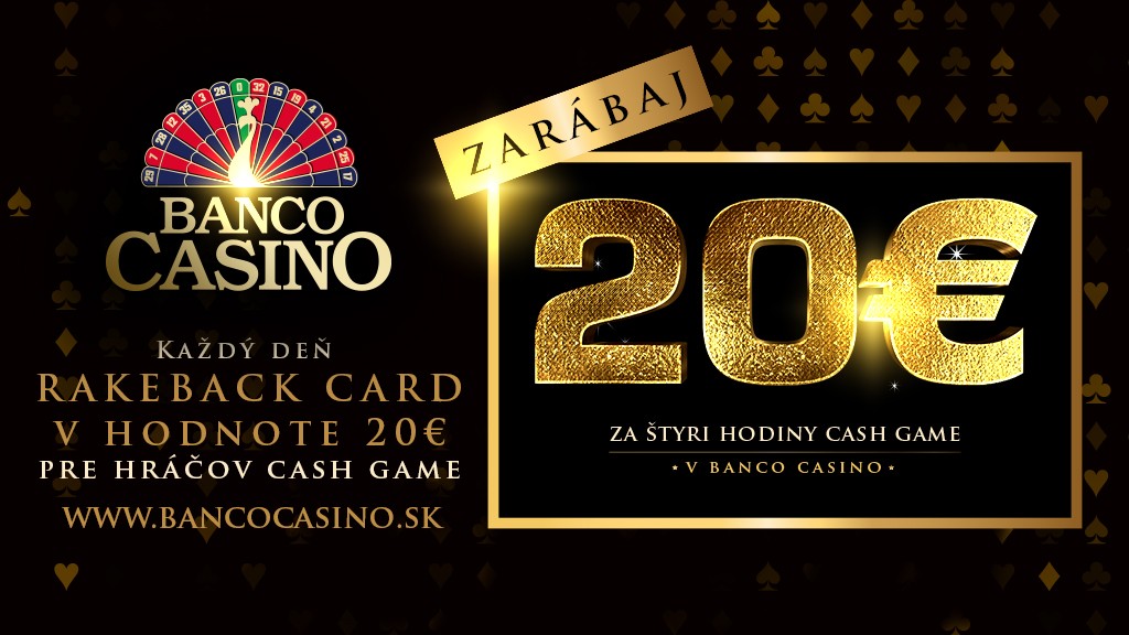 Cash Game - Rakeback 20€ denne!