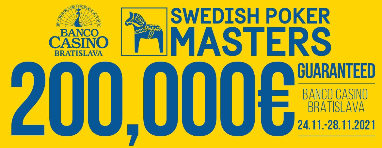 Swedish Poker Masters 200,000€ GTD v jeseni 2021!