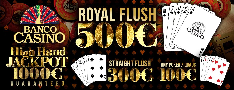 Exkluzívne cash game bonusy pre každého v Banco Casino!