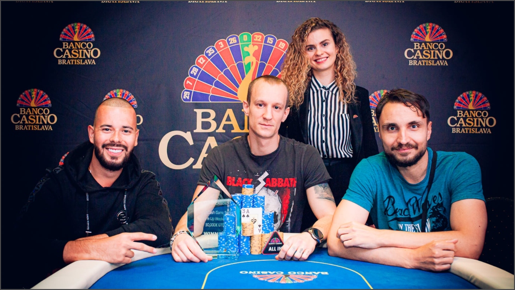 Vojto Novanský po 3-way deale ovládol BCGS Warm Up Weekend 30,000€ GTD!